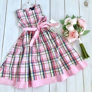 New Girl Chaps Plaid Dress